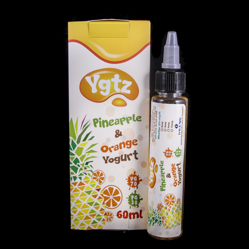 FRTZ & YGTZ - Pineapple & Orange Yogurt Mix - 6mg (60ml)